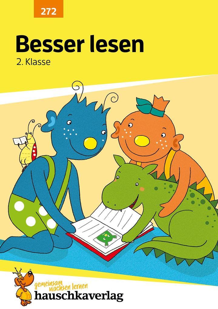 Besser lesen 2. Klasse als Buch (geheftet)