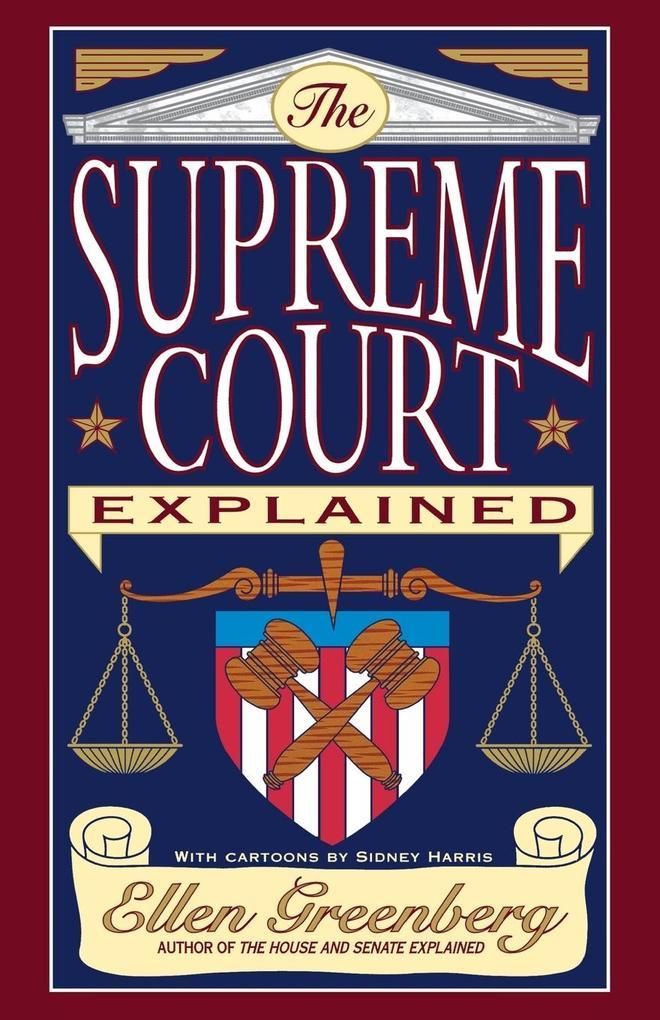 The Supreme Court Explained als Taschenbuch