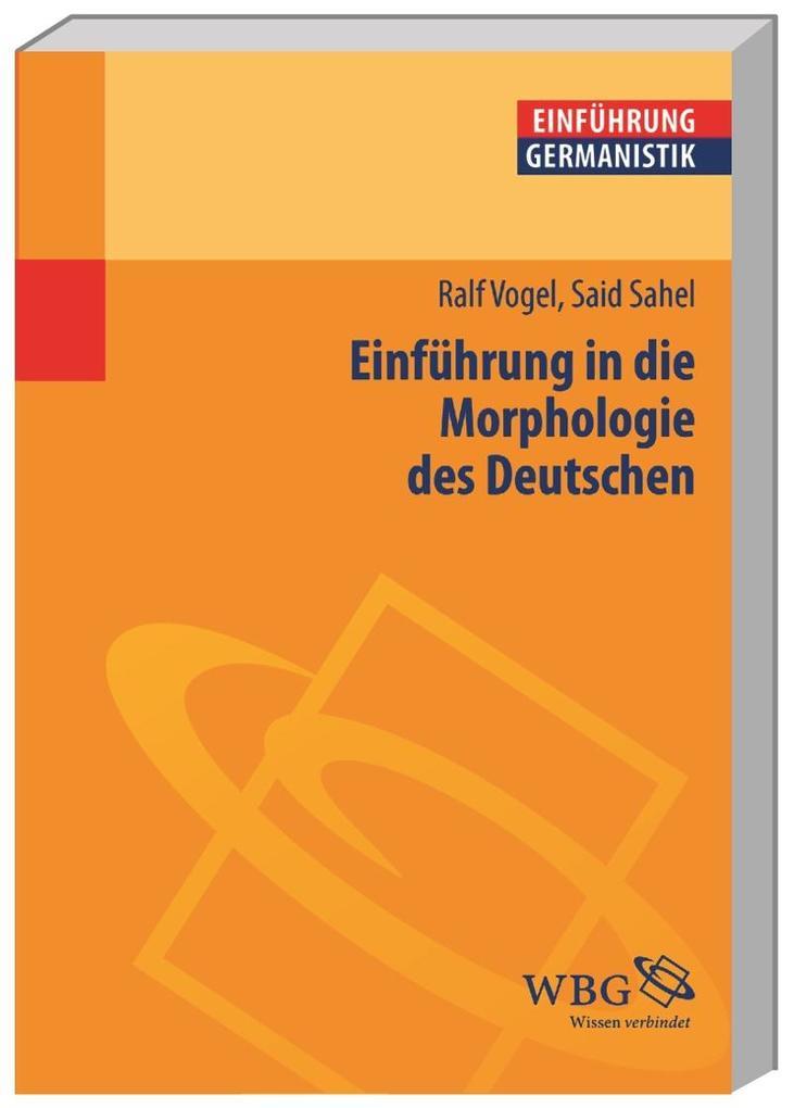 Einführung in die Morphologie des Deutschen als Buch (kartoniert)