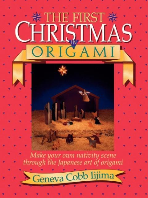 The First Christmas in Origami als Buch (kartoniert)