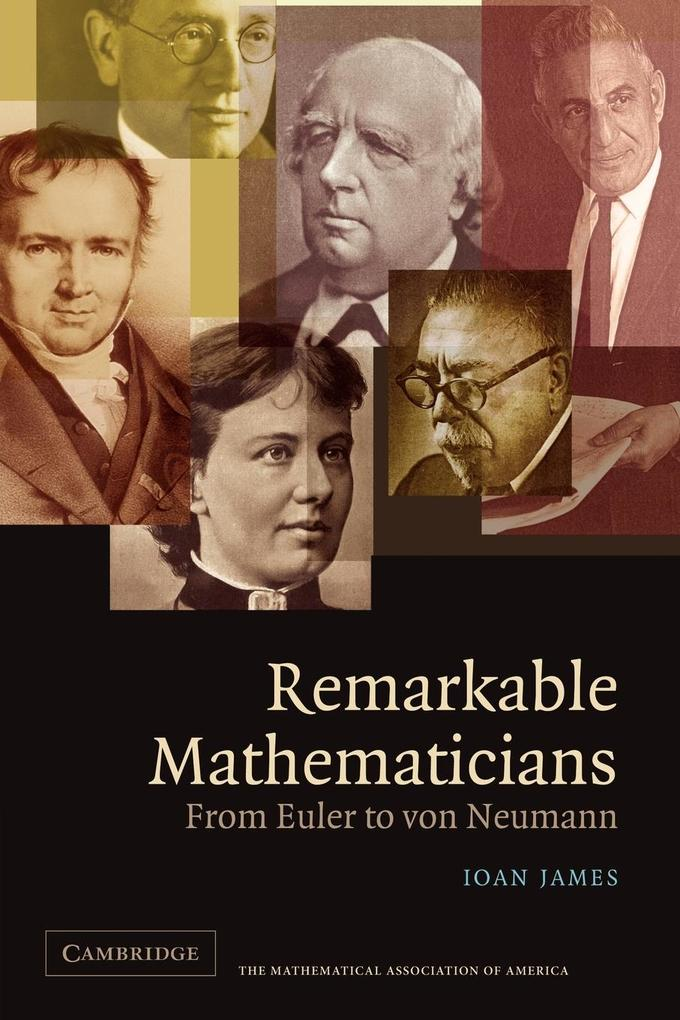 Remarkable Mathematicians als Buch (kartoniert)