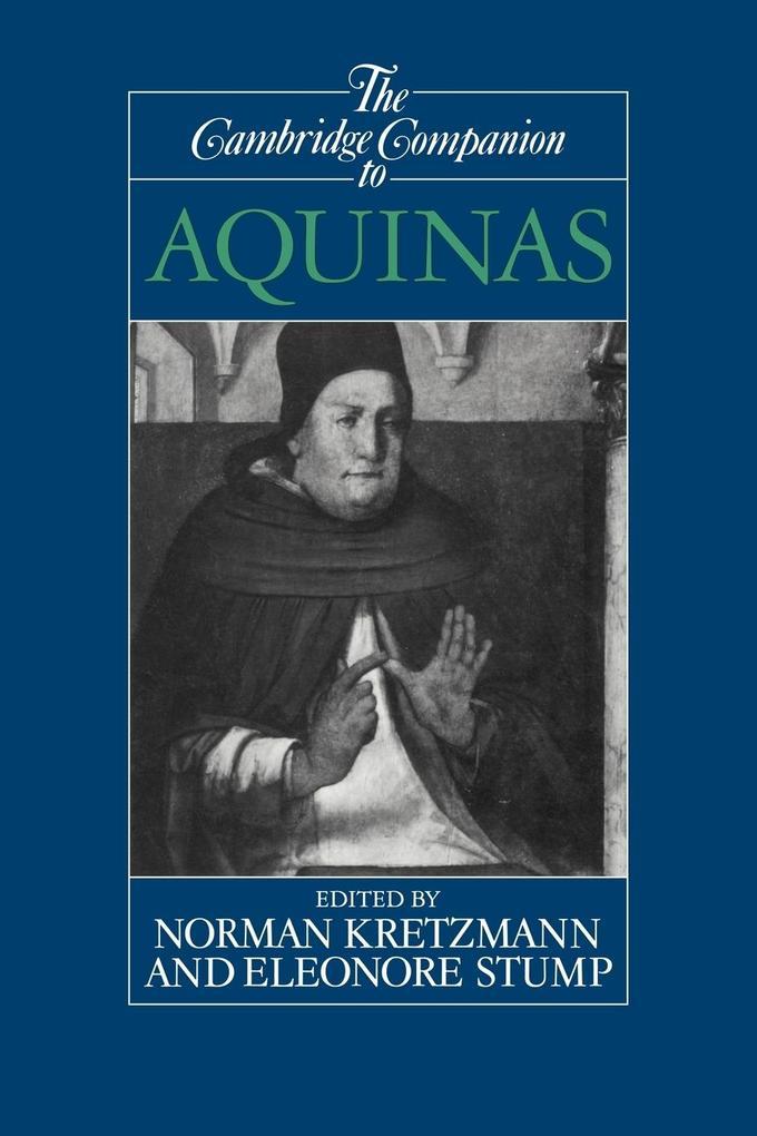 The Cambridge Companion to Aquinas als Buch (kartoniert)