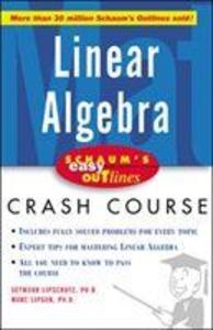 Schaum's Easy Outline of Linear Algebra als Taschenbuch