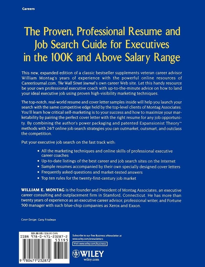 Resume Guide for $100,000 Plus Executive Jobs als Taschenbuch