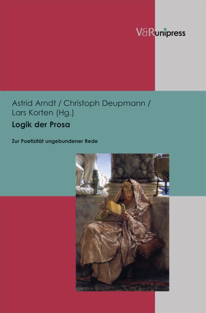 Logik der Prosa als eBook pdf
