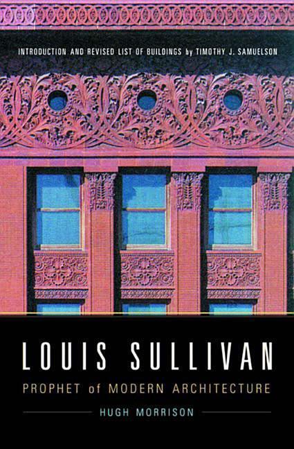 Louis Sullivan als Taschenbuch