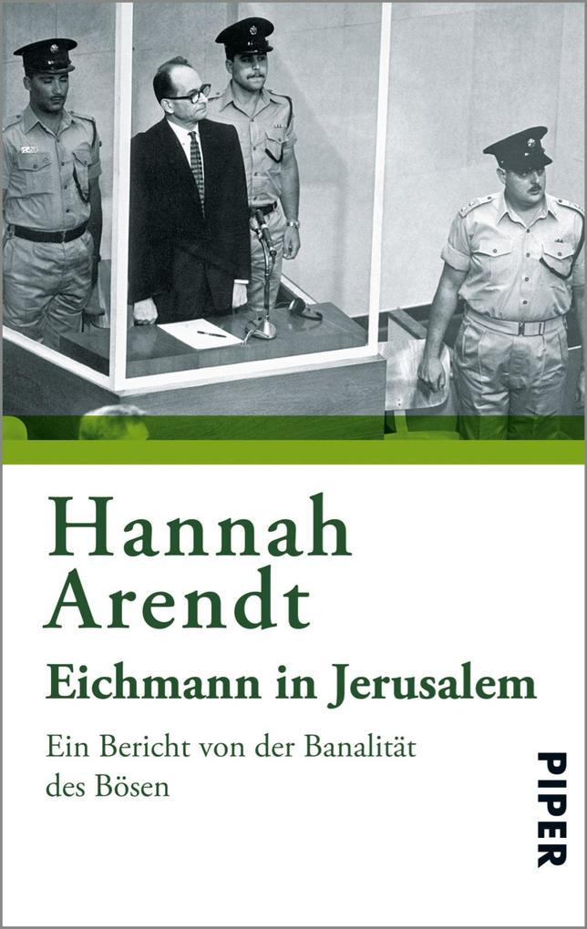 Eichmann in Jerusalem als eBook epub