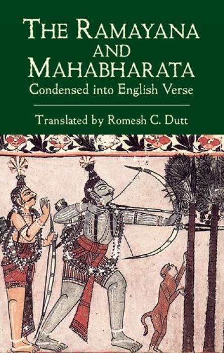 The Ramayana and Mahabharata Condensed into English Verse als Taschenbuch