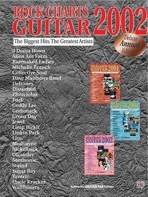 Rock Charts Guitar als Taschenbuch