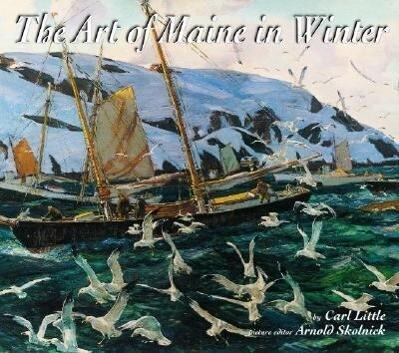 The Art of Maine in Winter als Buch (gebunden)