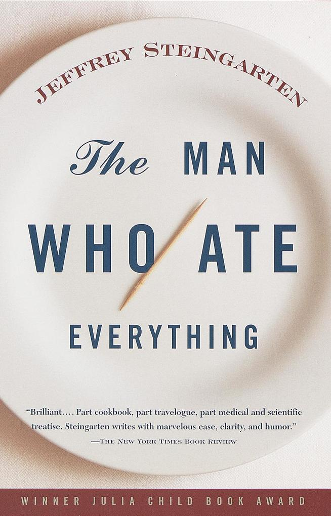 The Man Who Ate Everything als Taschenbuch