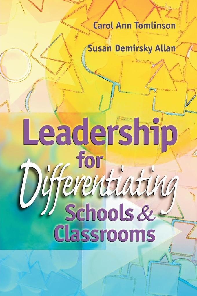 Leadership for Differentiating Schools & Classrooms als Taschenbuch