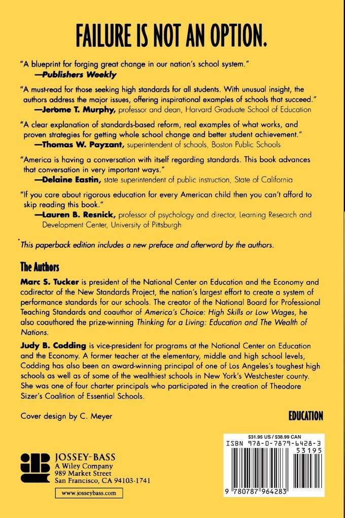 Standards for Our Schools als Taschenbuch