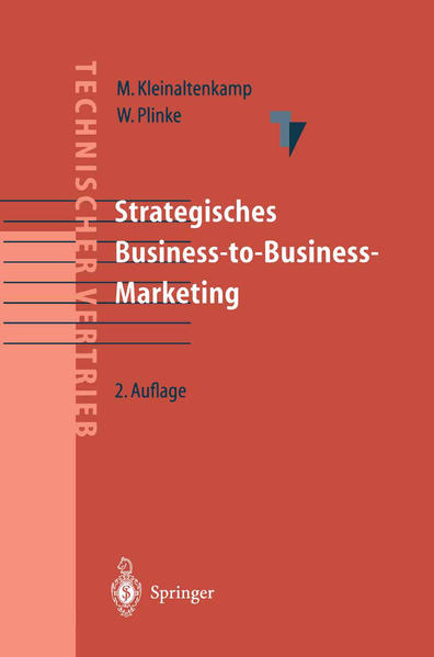 Strategisches Business-to-Business Marketing als Buch (gebunden)
