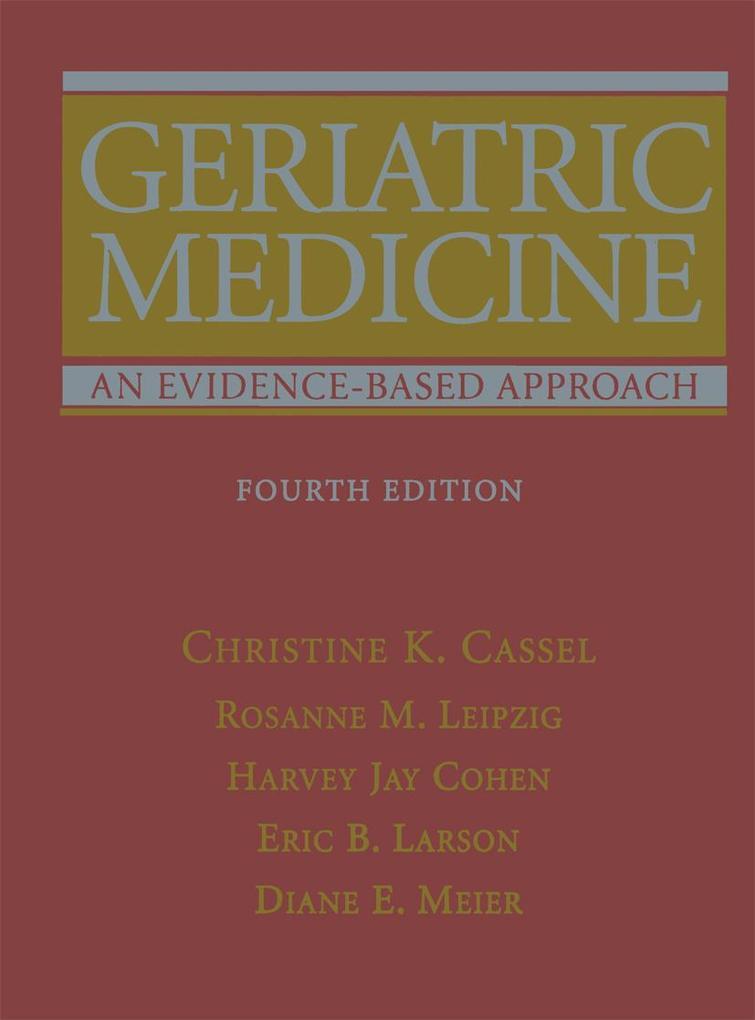 Geriatric Medicine als Buch (gebunden)