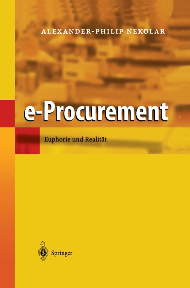 e-Procurement als Buch (gebunden)