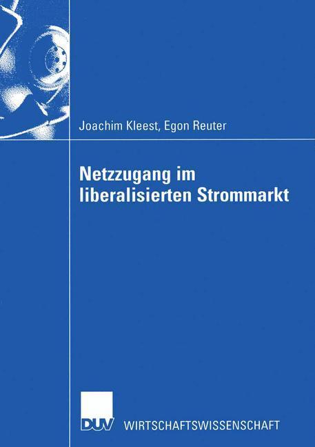 Netzzugang im liberalisierten Strommarkt als Buch (kartoniert)