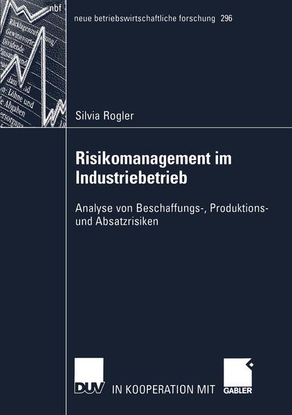 Risikomanagement im Industriebetrieb als Buch (kartoniert)