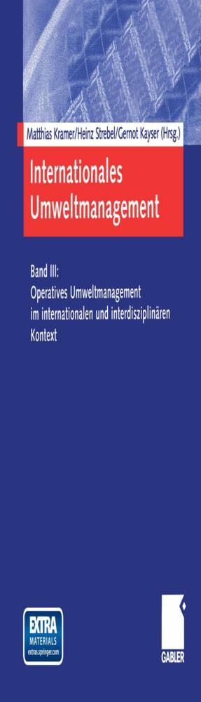Internationales Umweltmanagement als Buch (kartoniert)