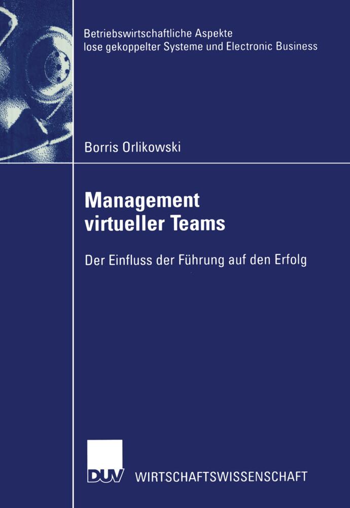 Management virtueller Teams als Buch (kartoniert)