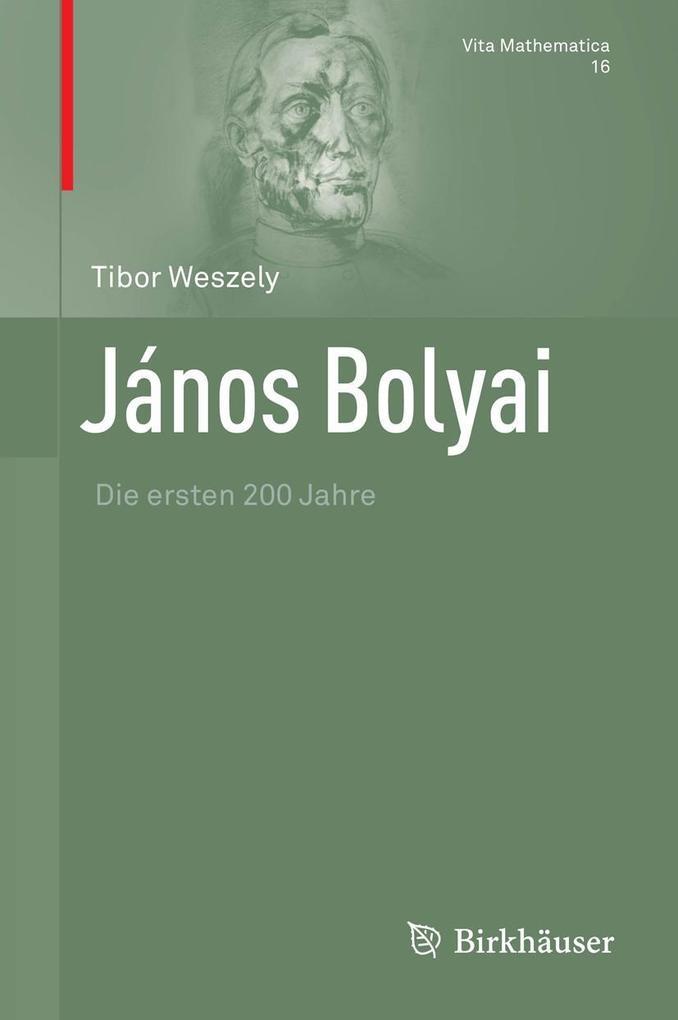 János Bolyai als eBook pdf