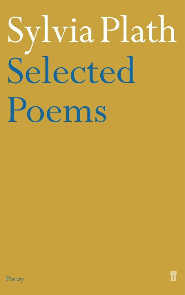 Selected Poems of Sylvia Plath als Taschenbuch