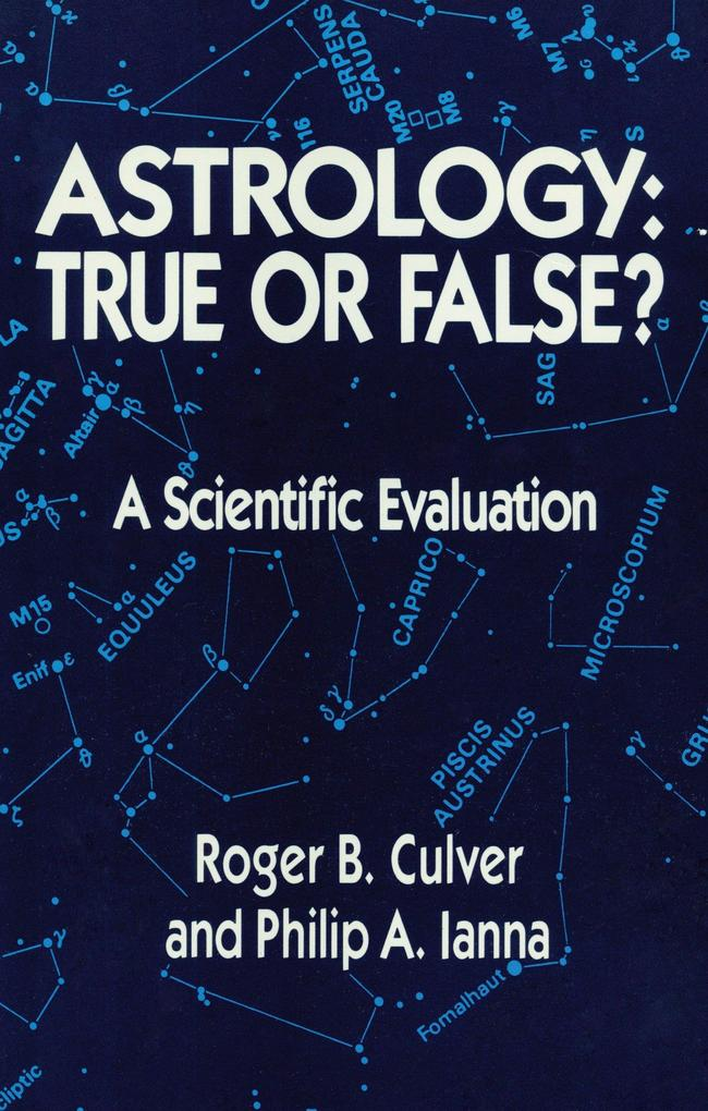 Astrology, True or False? als Taschenbuch