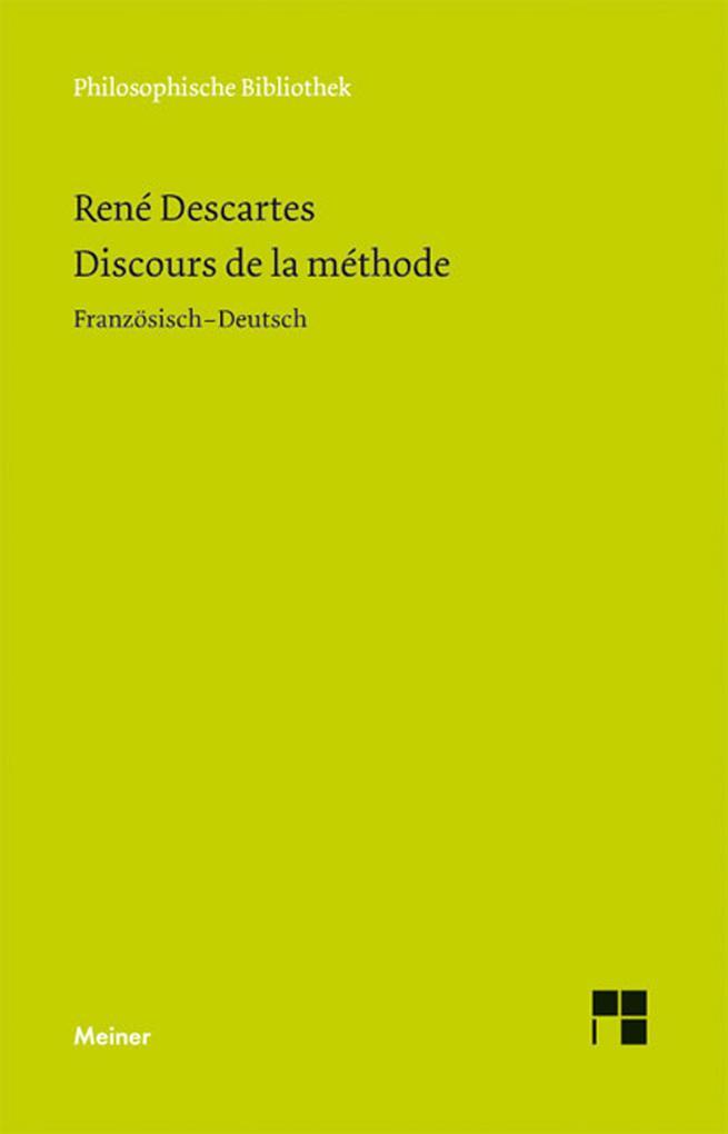 Discours de la Méthode als eBook pdf