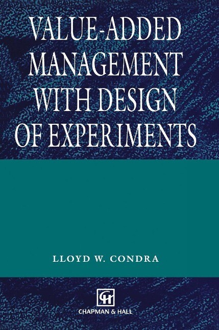 Value-added Management with Design of Experiments als Buch