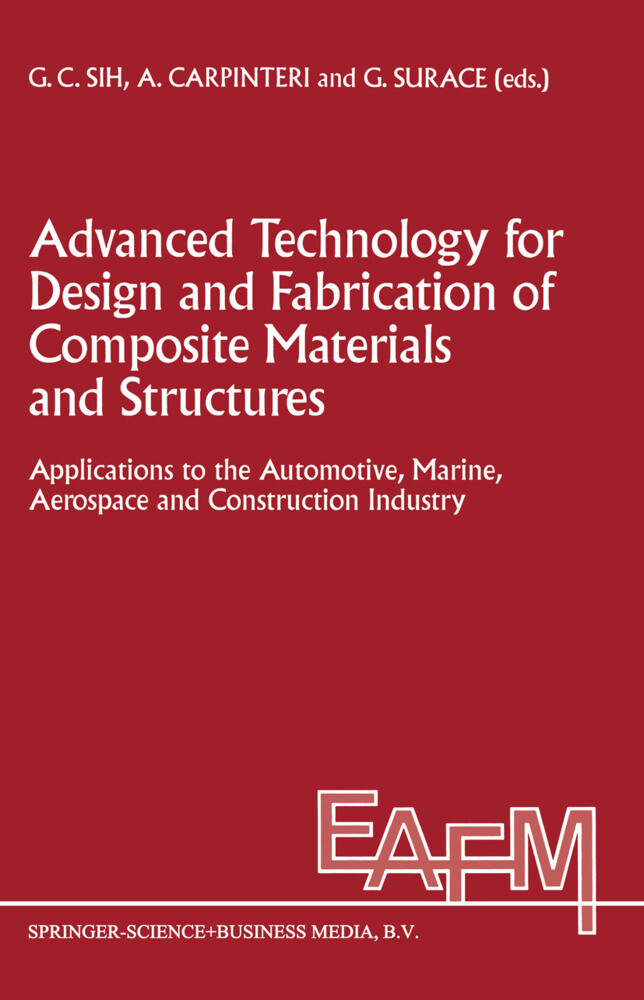 Advanced Technology for Design and Fabrication of Composite Materials and Structures als Buch (gebunden)