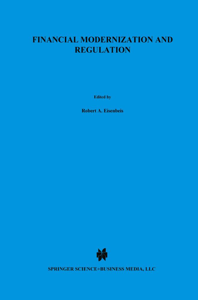 Financial Modernization and Regulation als Buch (gebunden)