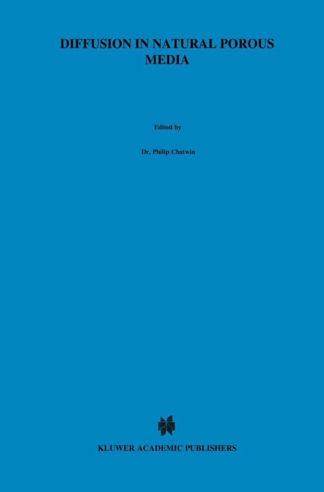 Diffusion in Natural Porous Media als Buch (gebunden)