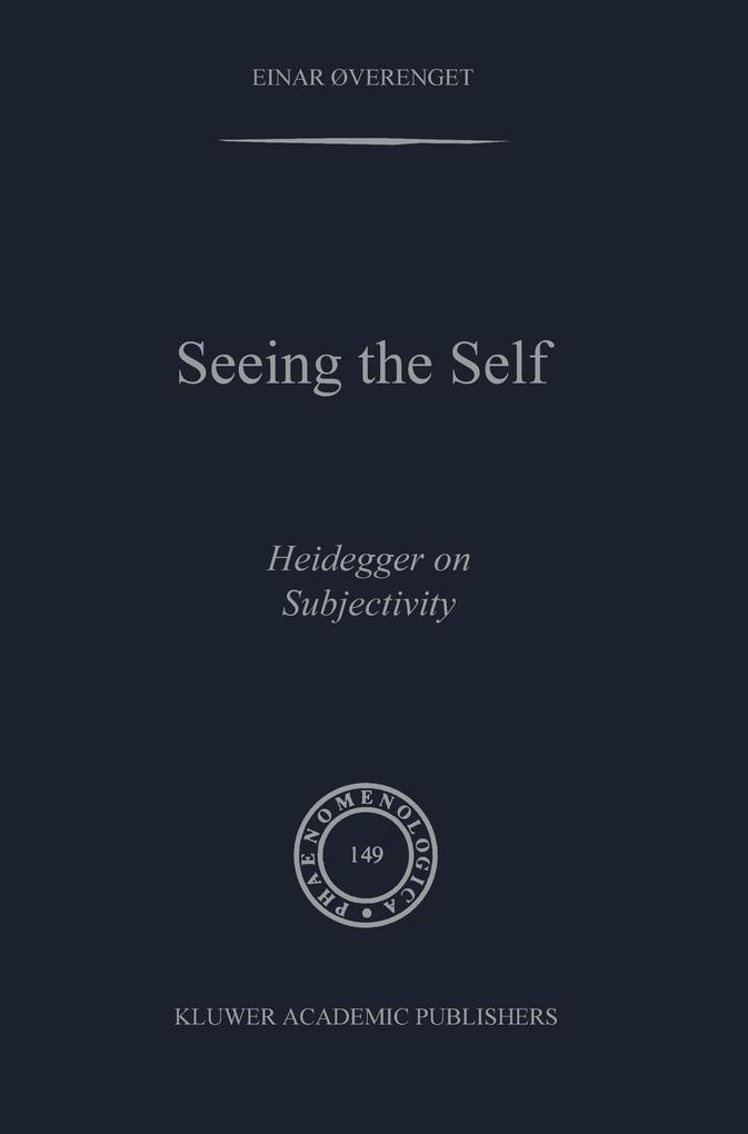 Seeing the Self als Buch (kartoniert)