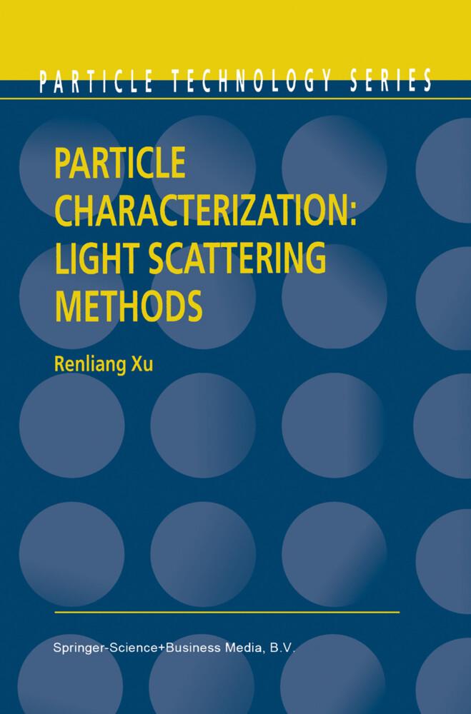 Particle Characterization: Light Scattering Methods als Buch (kartoniert)