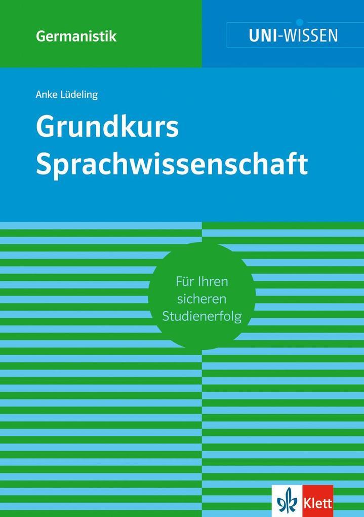 Grundkurs Sprachwissenschaft als Buch (kartoniert)