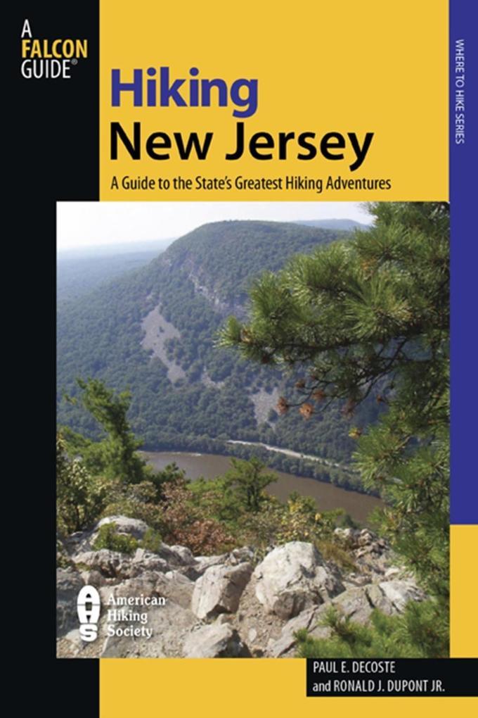 Hiking New Jersey als eBook epub