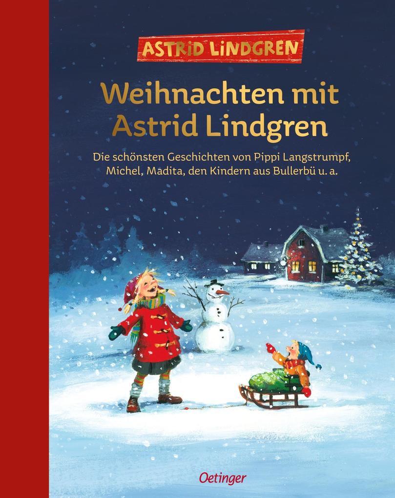 Weihnachten mit Astrid Lindgren als Buch (gebunden)