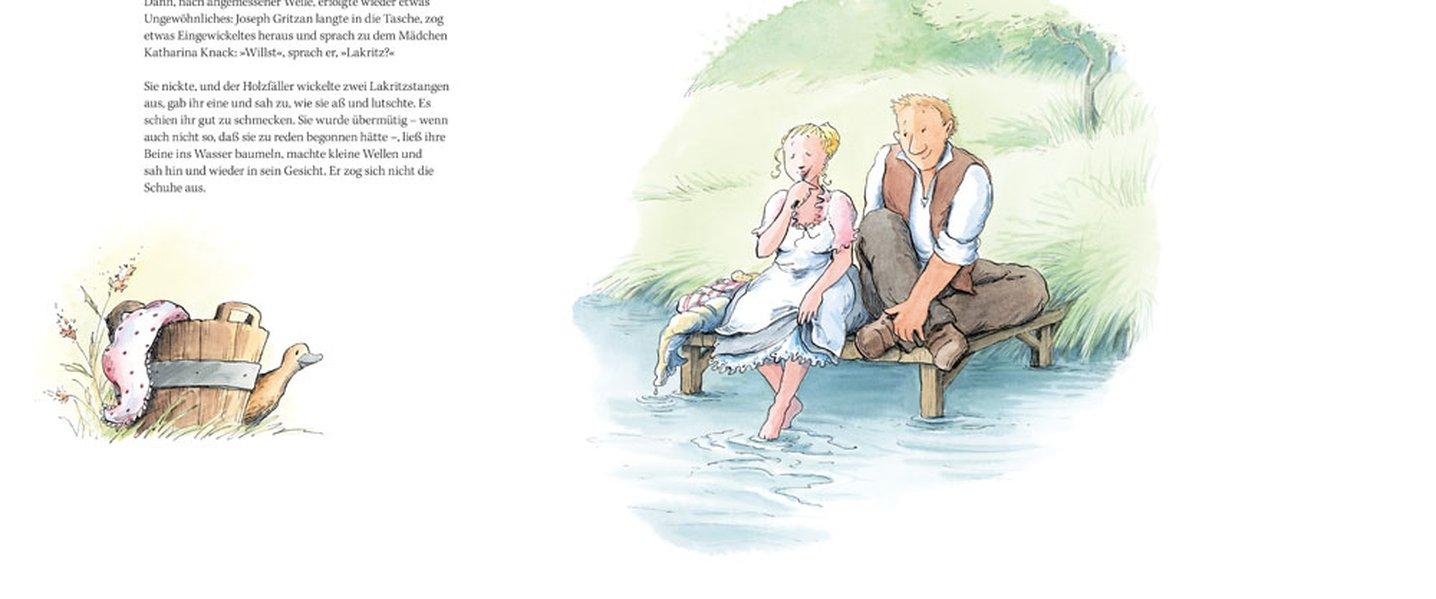 Eine Liebesgeschichte als Buch (gebunden)