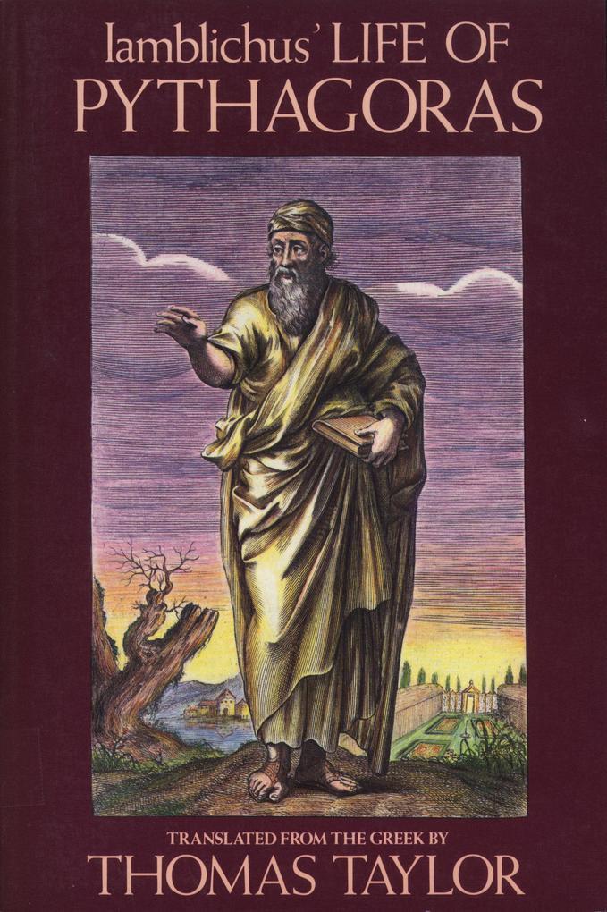 Iamblichus' Life of Pythagoras als Taschenbuch