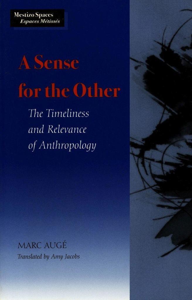 A Sense for the Other als Taschenbuch
