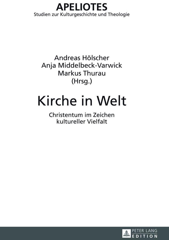 Kirche in Welt als Buch (gebunden)