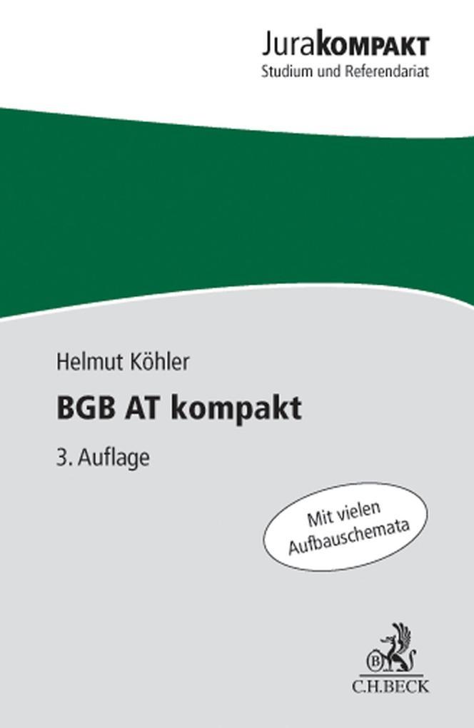 BGB AT kompakt als eBook epub