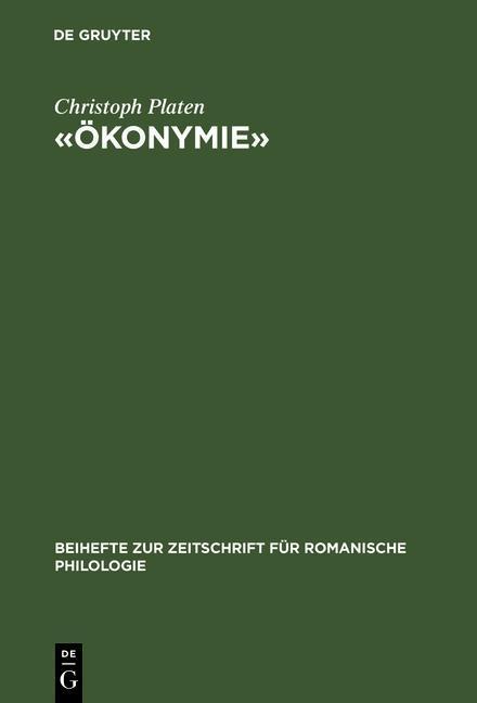 «Ökonymie» als eBook pdf