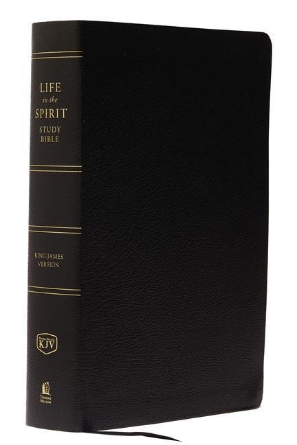 Life in the Spirit Study Bible-KJV als Buch (Ledereinband)