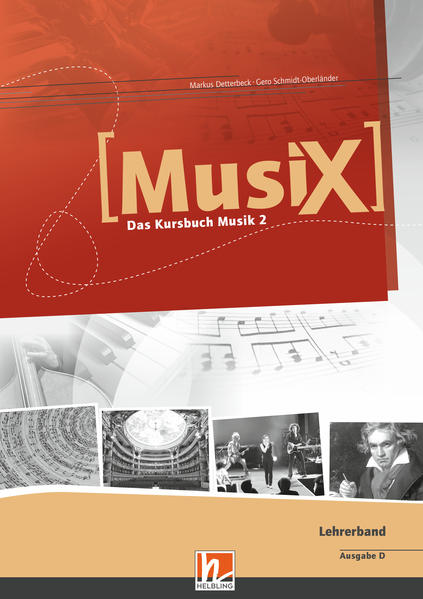 MusiX 2. Lehrerband. Allgemeine Ausgabe D. Das Kursbuch Musik 2. Klasse 7/8 als Buch (kartoniert)