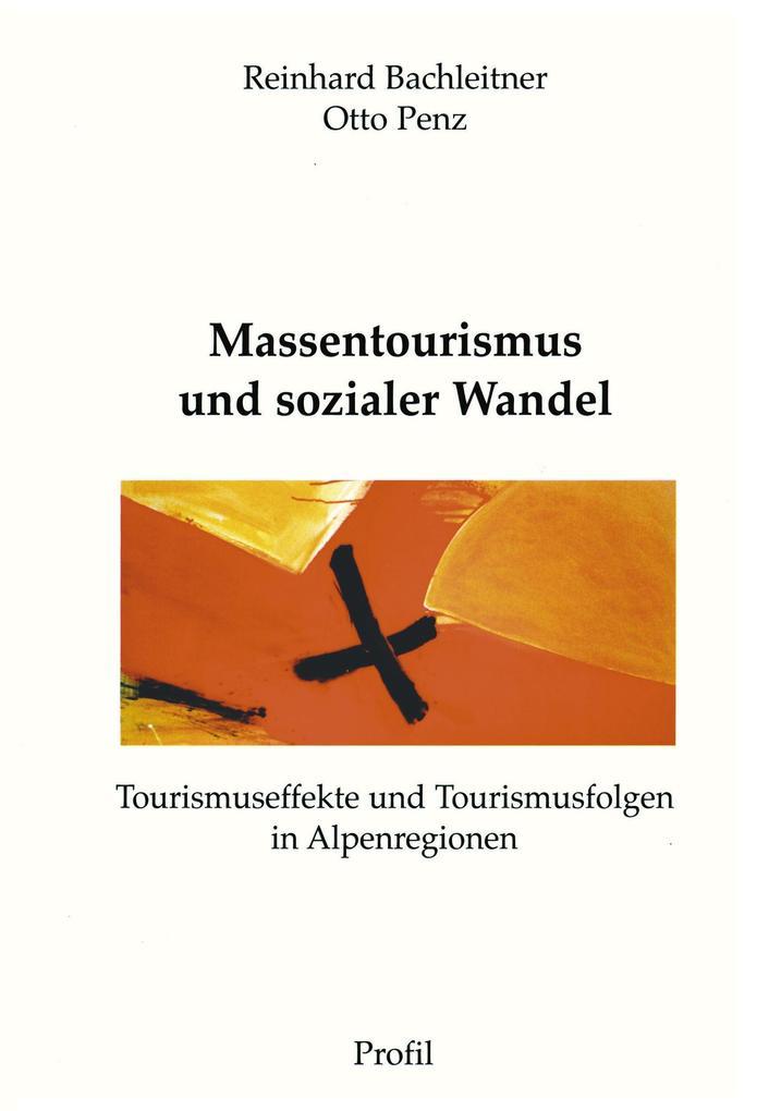 Massentourismus und sozialer Wandel als Buch (kartoniert)