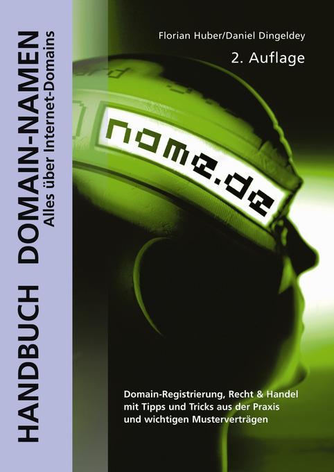 Handbuch Domain-Namen als Buch (gebunden)
