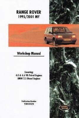 Range Rover Workshop Manual: 1995-2001 als Taschenbuch