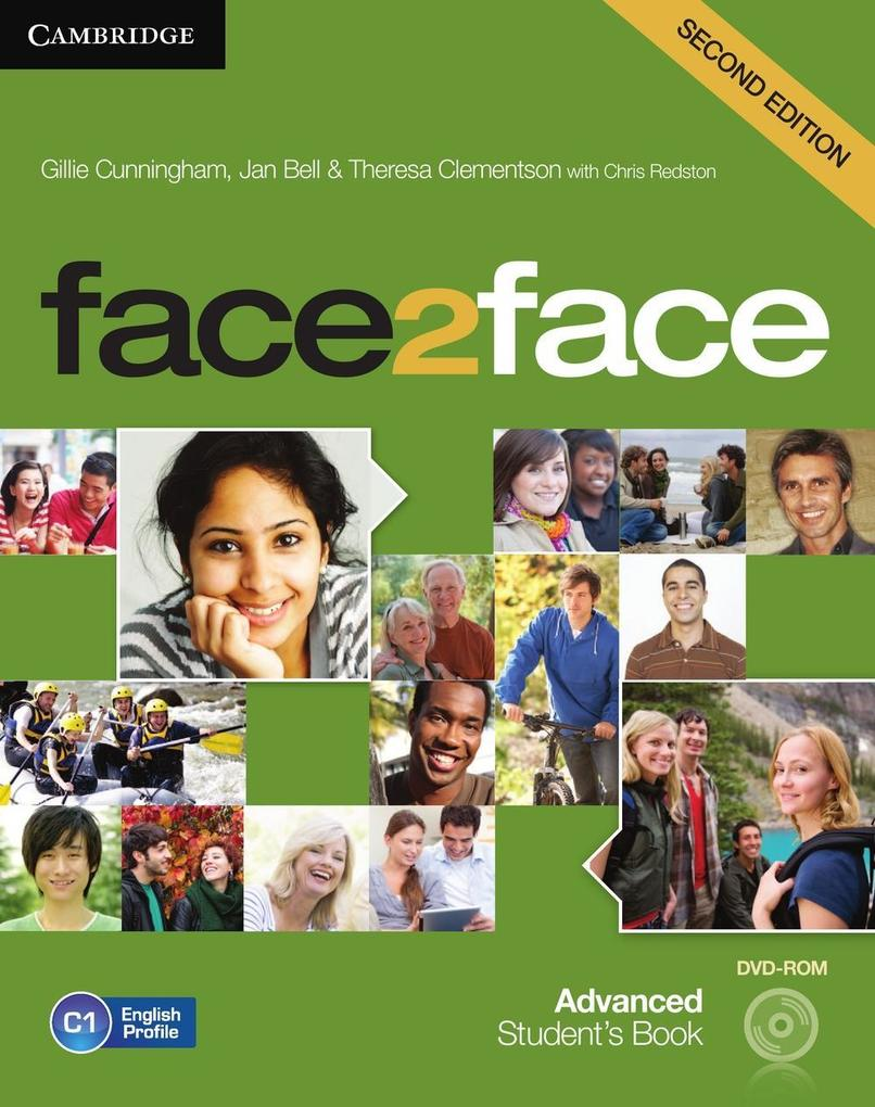 face2face. Student's Book with DVD-ROM. Advanced - Second Edition als Buch (kartoniert)