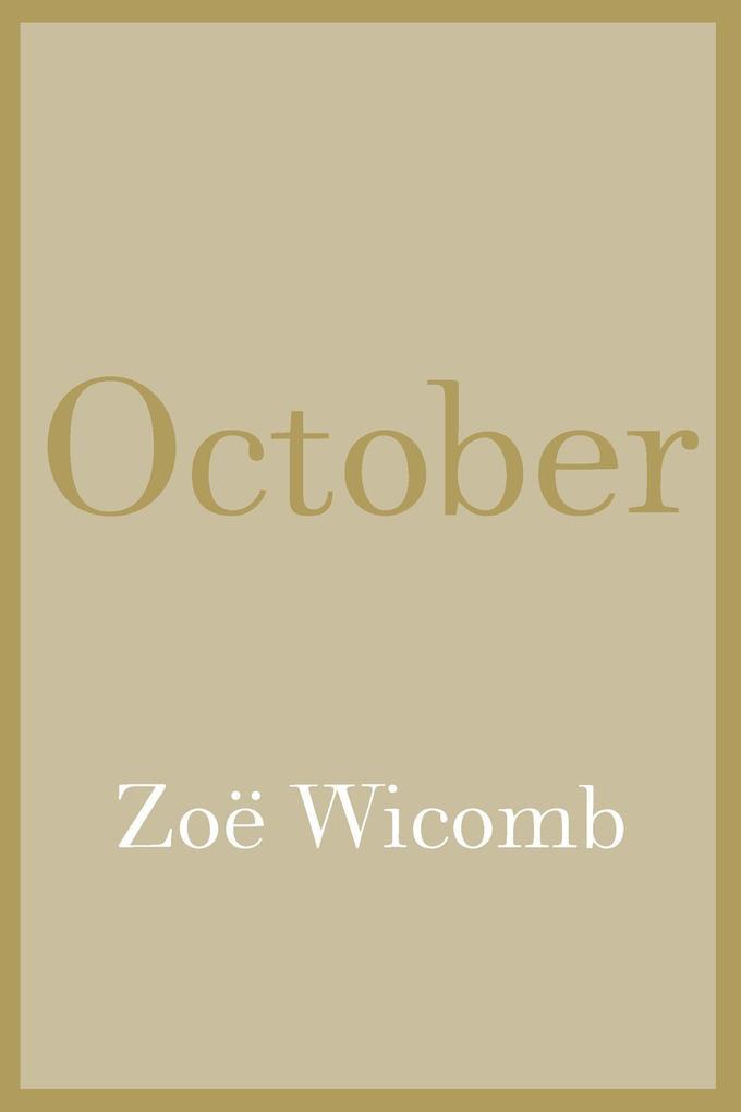 October als Buch (gebunden)